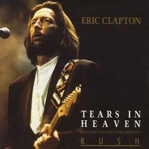 Eric Clapton - Tears In Heaven - single cover