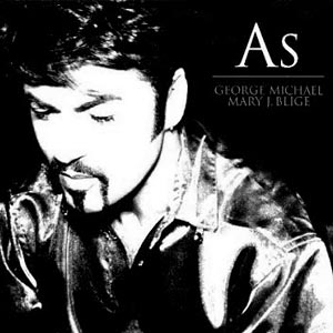 George Michael and Mary J. Blige - As - single cover