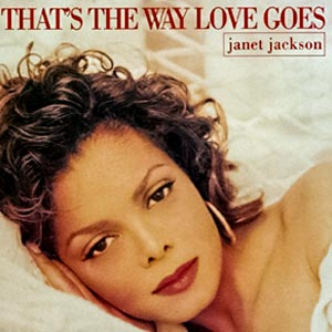 Janet Jackson - That's the Way Love Goes - single cover