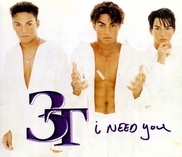 3T - I Need You - single cover