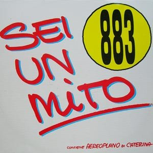 883 - Sei un mito - single cover