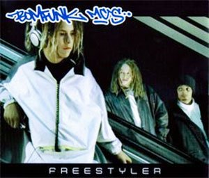 Bomfunk MC's - Freestyler - single cover