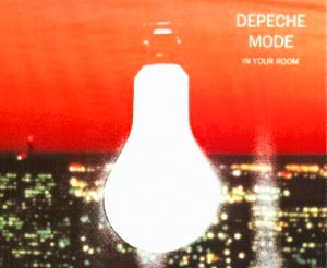 Depeche Mode - In Your Room - single cover