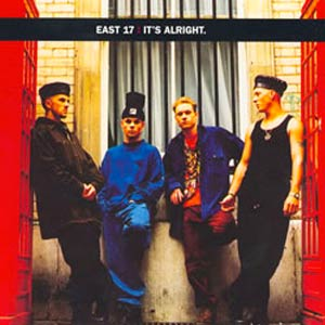 East 17 - It's Alright - single cover