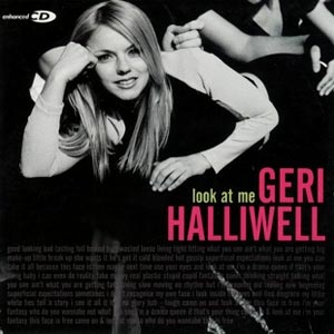 Geri Halliwell - Look At Me - single cover