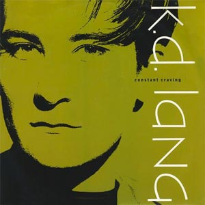 k.d. lang - Constant Craving - single cover