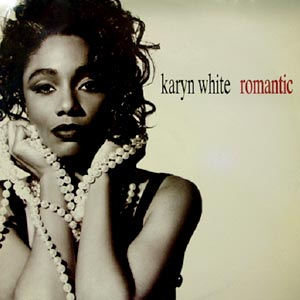 Karyn White - Romantic - single cover