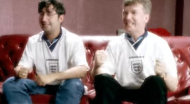 Baddiel, Skinner & The Lightning Seeds - Three Lions (Football's Coming Home) - Official Music Video