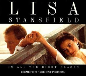 Lisa Stansfield - In All the Right Places - single cover