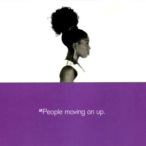M People - Moving On Up - Single Cover
