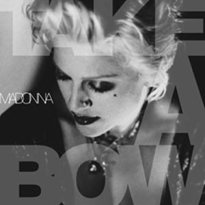 Madonna - Take A Bow - single cover