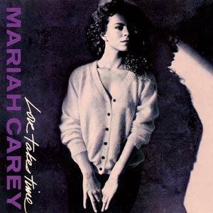 Mariah Carey - Love Takes Time - single cover