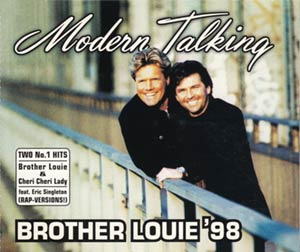 Modern Talking - Brother Louie '98 - single cover