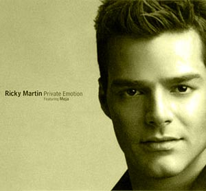 Ricky Martin feat. Meja - Private Emotion - single cover