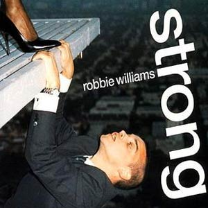 Robbie Williams - Strong - single cover