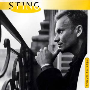 Sting - When We Dance - single cover
