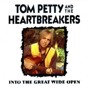 Tom Petty And The Heartbreakers - Into The Great Wide Open - single cover