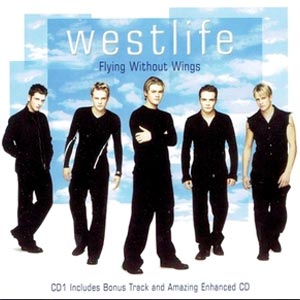 Westlife - Flying Without Wings - single cover
