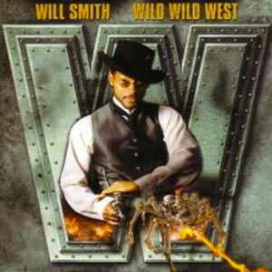 Will Smith featuring Dru Hill and Kool Moe Dee - Wild Wild West - single cover