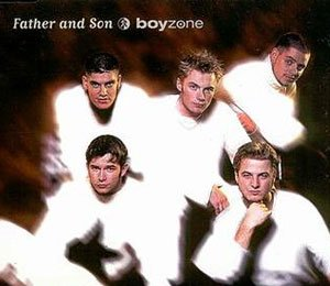 Boyzone - Father And Son - single cover