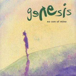 Genesis - No Son Of Mine - single cover