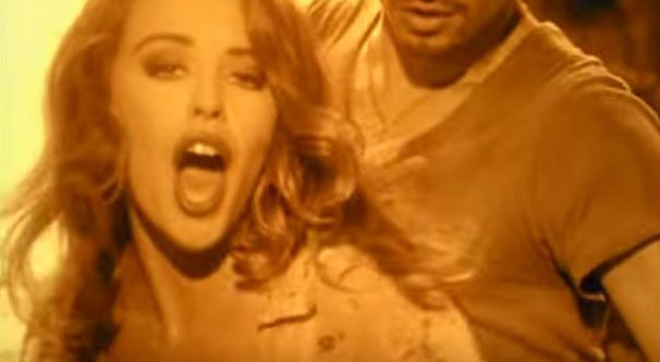 Kylie Minogue - Give Me Just A Little More Time - Official Music Video