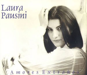 Laura Pausini - amores extranos - single cover