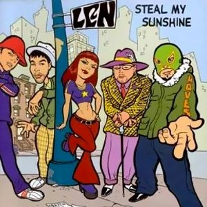 Len - Steal My Sunshine - single cover