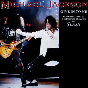 Michael Jackson - Give In To Me - single cover