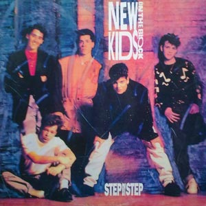 New Kids On The Block - Step By Step - single cover