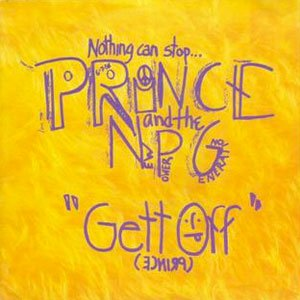 Prince & The New Power Generation - Gett Off - single cover
