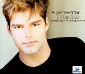 Ricky Martin - La Copa de la Vida / The Cup of Life (Remix – single cover