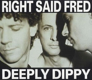 Right Said Fred - Deeply Dippy - single cover