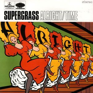 Supergrass - Alright - Time - Single Cover