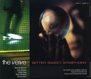 The Verve - Bitter Sweet Symphony - single cover