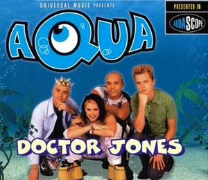 Aqua - Doctor Jones - single cover