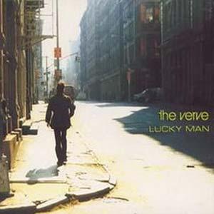 The Verve - Lucky Man - single cover
