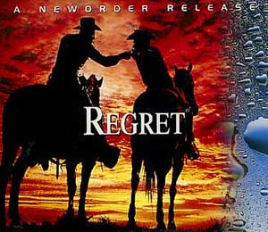 New Order - Regret - single cover