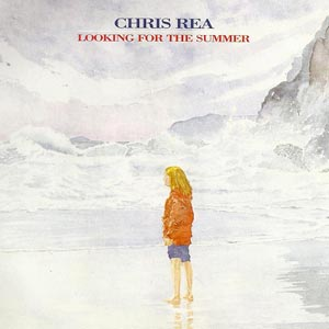 Chris Rea - Looking For The Summer - single cover