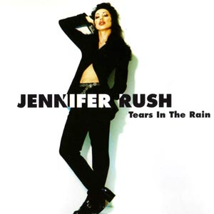 Jennifer Rush - Tears In The Rain - single cover