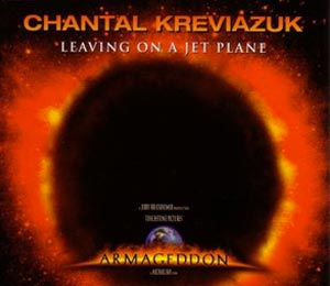 Chantal Kreviazuk - Leaving On A Jet Plane - single cover