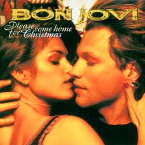 Bon Jovi - Please Come Home For Christmas - single cover