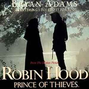 Bryan Adams - (Everything I Do) I Do It For You - Single Cover