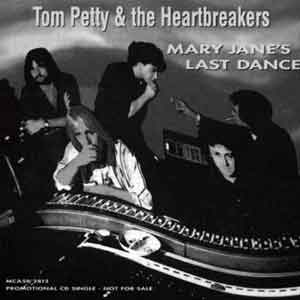 Tom Petty & The Heartbreakers - Mary Jane's Last Dance - single cover