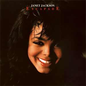 Janet Jackson - Escapade - single cover