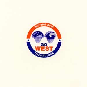 Pet Shop Boys - Go West - single cover