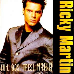 Ricky Martin - María - single cover