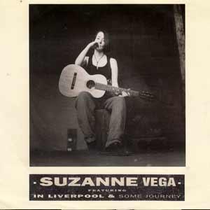Suzanne Vega - In Liverpool - single cover