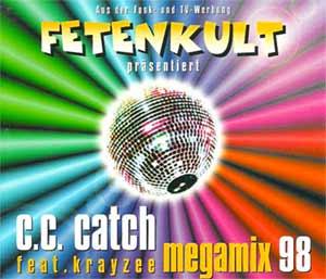 C.C.Catch feat. Krayzee - Megamix '98 - single cover