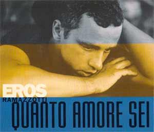 Eros Ramazzotti - Quanto Amore Sei - Single Cover